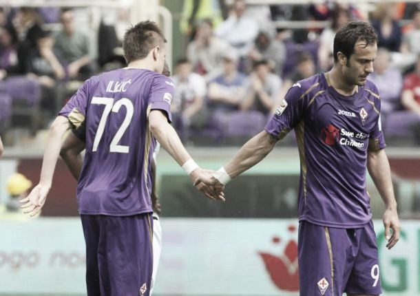 La Fiorentina rialza la testa, il Cesena vede la B: al Franchi è 3-1