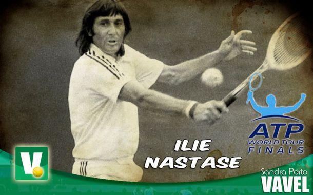 Ilie Nastase: espectáculo en los años 70