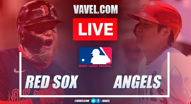 Highlights and runs: Boston Red Sox 5-4 Los Angeles Angels in 2021 MLB