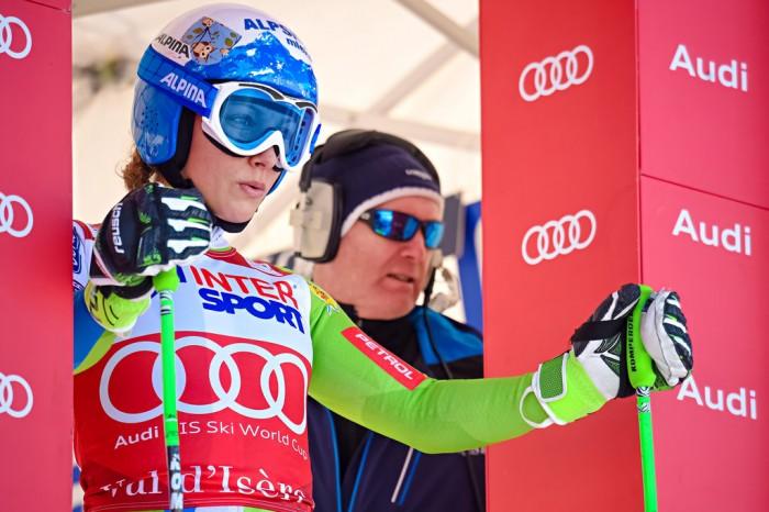 Sci Alpino - Val d'Isere, discesa libera femminile: vince ancora Ilka Stuhec