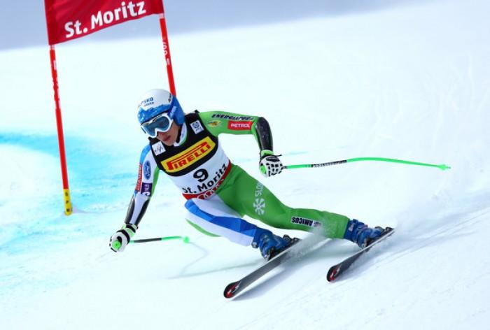 Sci Alpino, Mondiali St. Moritz: Ilka Stuhec domina la prova della discesa libera, Goggia quattordicesima