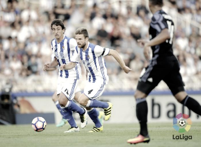 Tres años sin ganar al Madrid en Anoeta