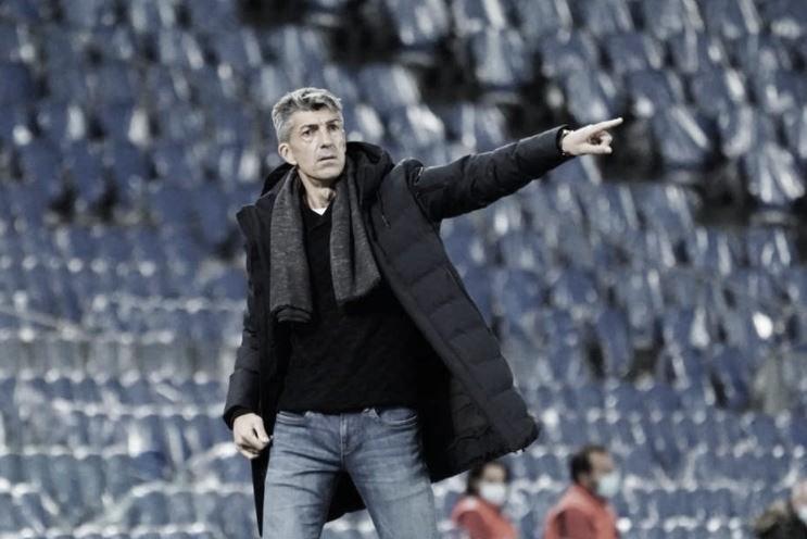 """Imanol Alguacil: """"Iremos a jugar el partido de vuelta como si este no hubiera existido"""""""
