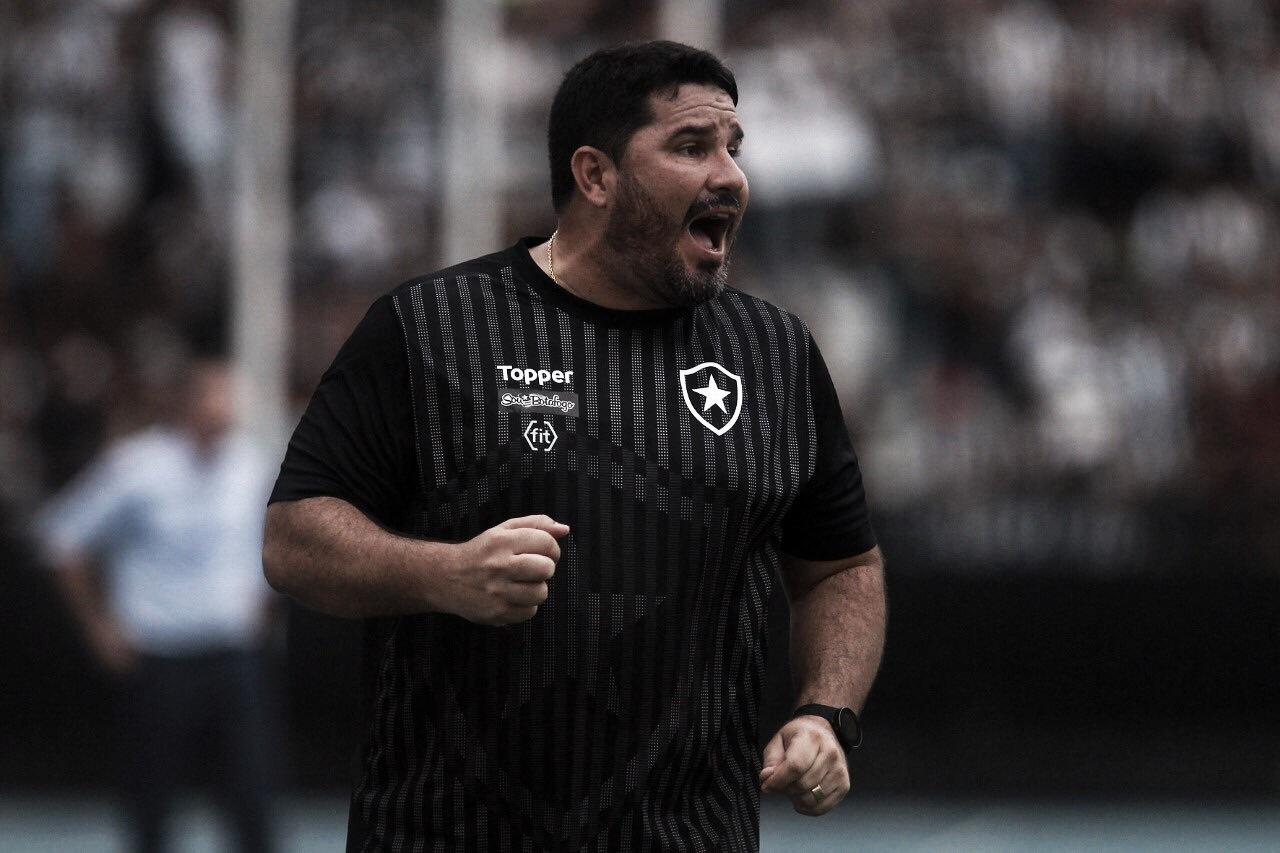 Barroca vibra com início promissor no Brasileiro e acredita queBotafogo ainda pode evoluir