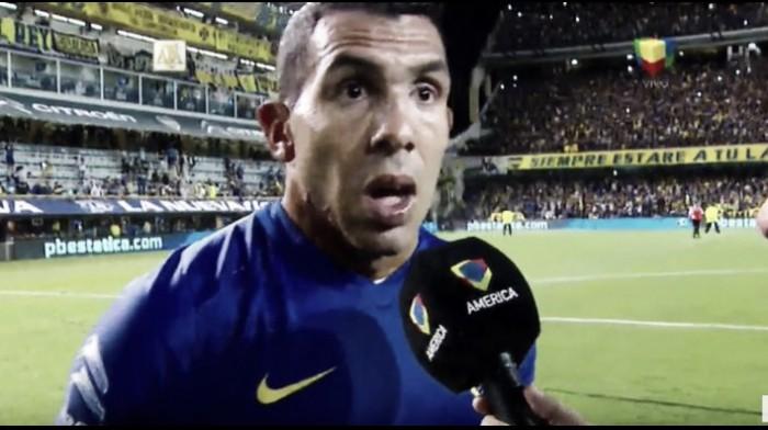 """Carlos Tevez: """"Esto es Boca, debemos seguir trabajando"""""""