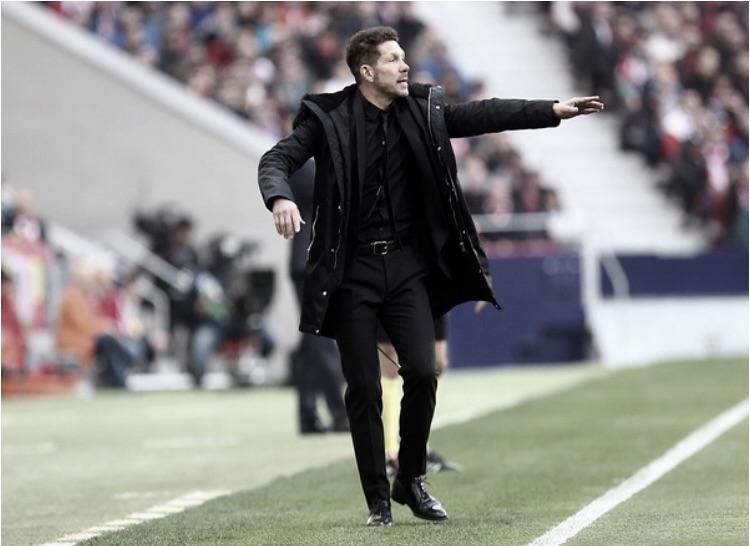 """Simeone admite superioridade do Real no clássico: """"Eram melhores"""""""