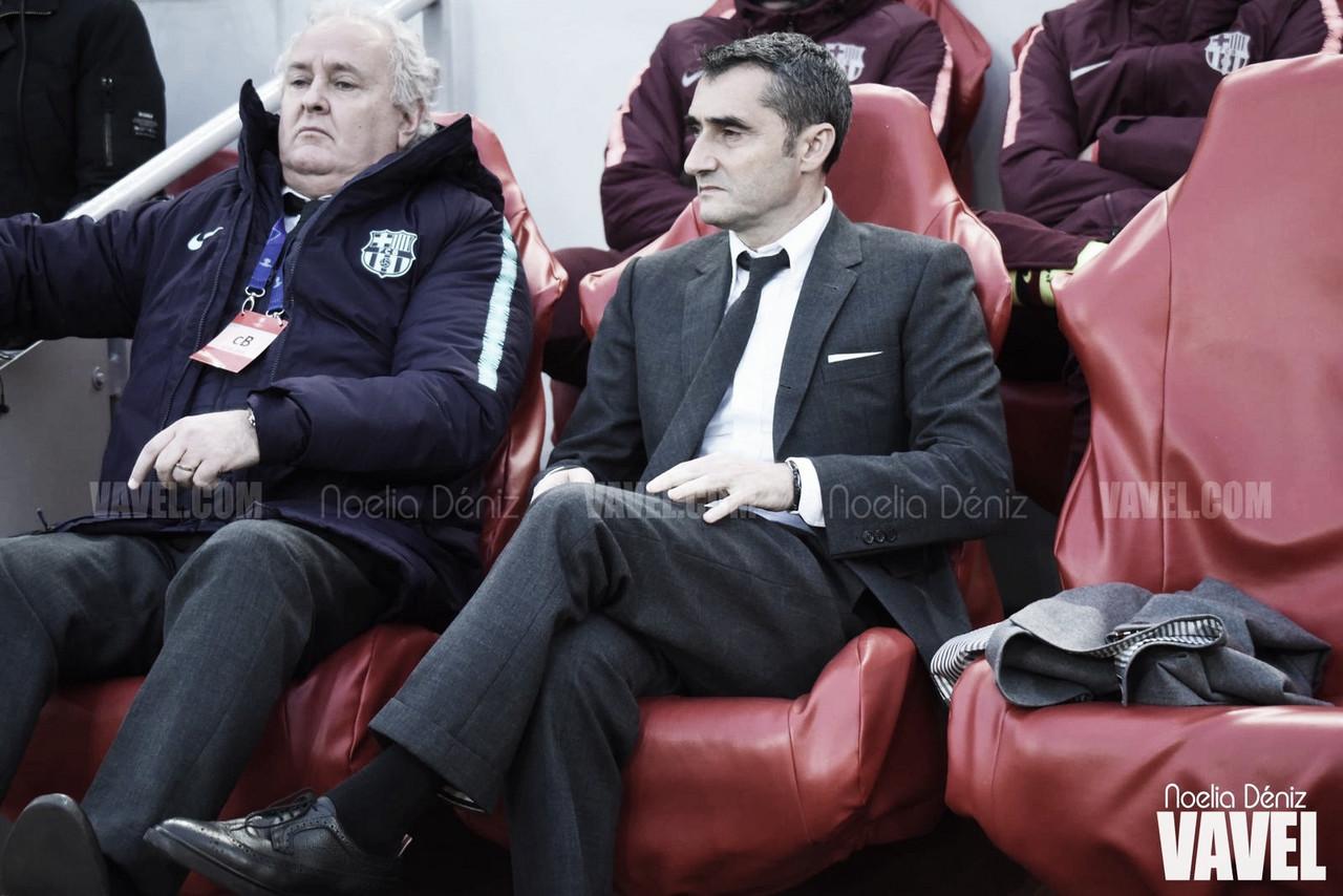 """Ernesto Valverde: """"Cuando te ganan 4-0 no tienes que poner ninguna excusa"""""""