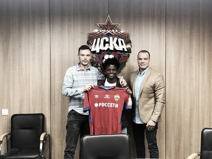 Vasco lucrará R$1 milhão com empréstimo de Lucas Santos ao CSKA Moscou
