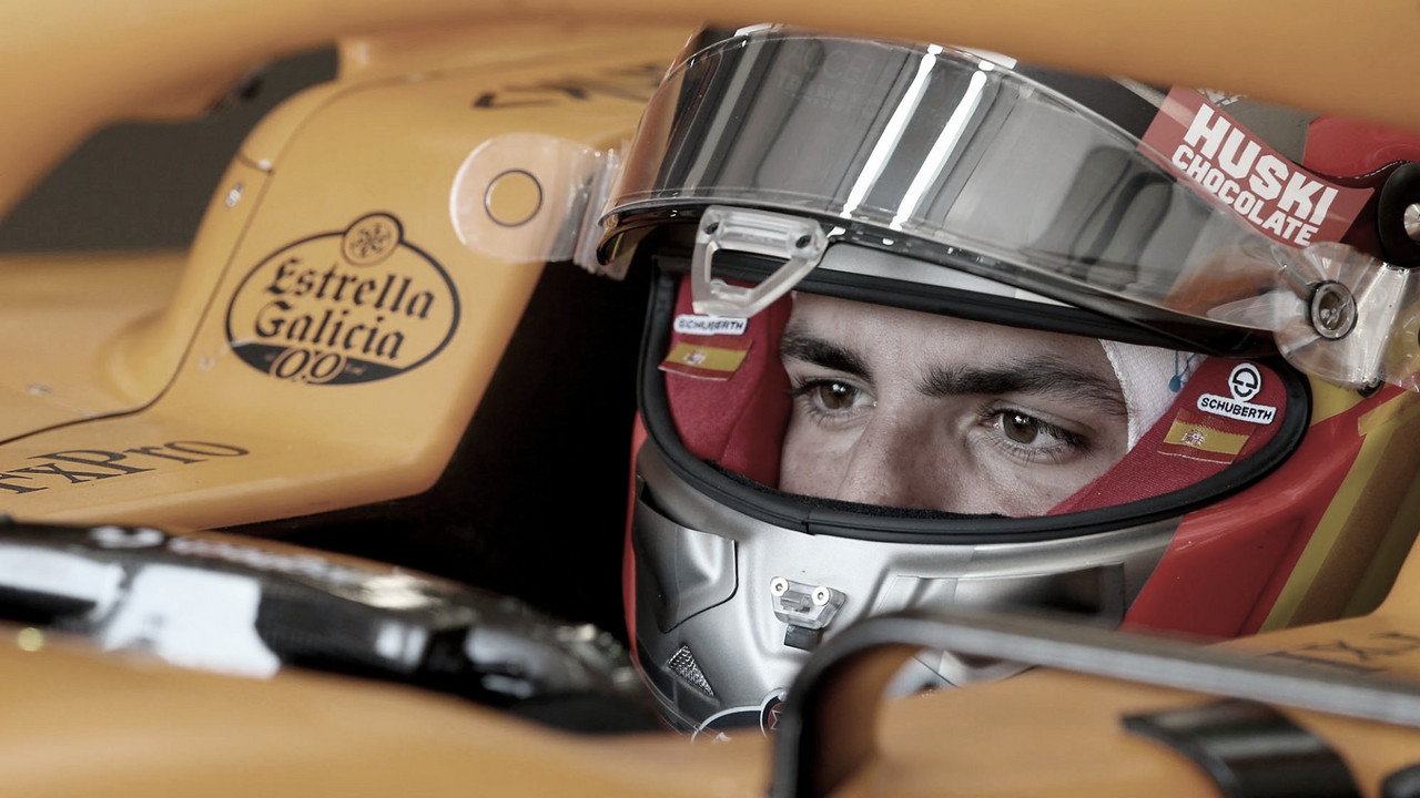 Sainz, tras los pasos de Alonso