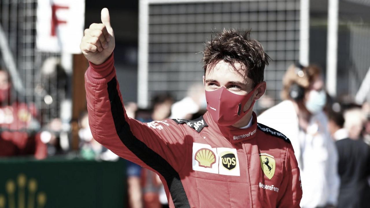 Leclerc admite que vice na Áustria surpreendeu em uma de suas 'melhores corridas'