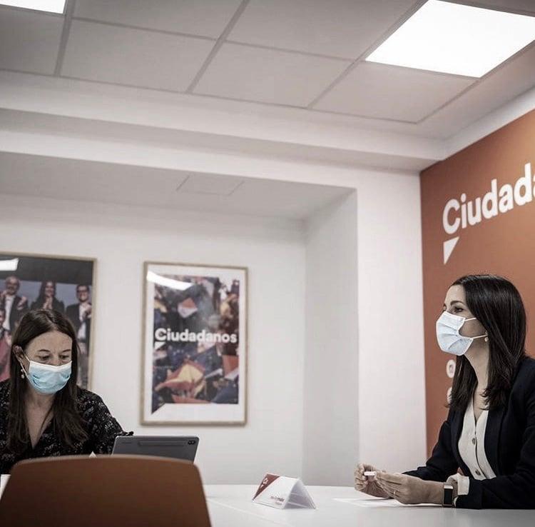 """Inés Arrimadas: """"Ciudadanos va a negociar para que estos Presupuestos sean los mejores posibles para los españoles"""""""