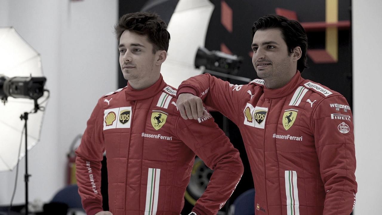 Após turbulento 2020, clima na Ferrari começa a melhorar