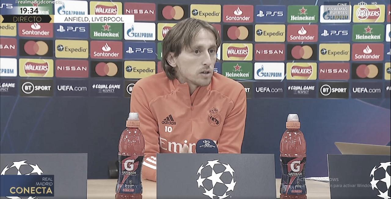 """Luka Modric: """"Nada de lo que se dice afuera puede manchar nuestra historia y lo que estamos haciendo"""""""