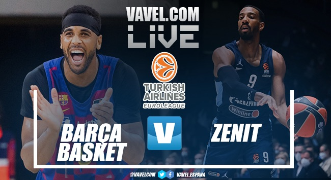 Resumen Barça Basket vs Zenit 79-53 en Euroliga