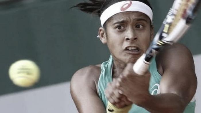 Teliana Pereira vence Pliskova na estreia em Roland Garros