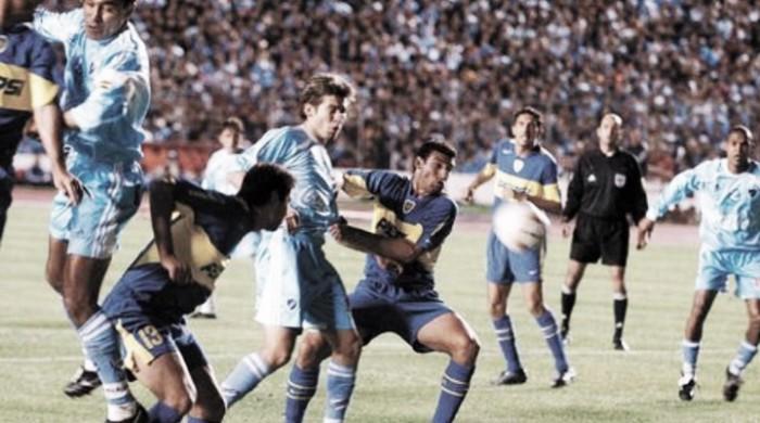 Boca de visitante frente a equipos bolivianos