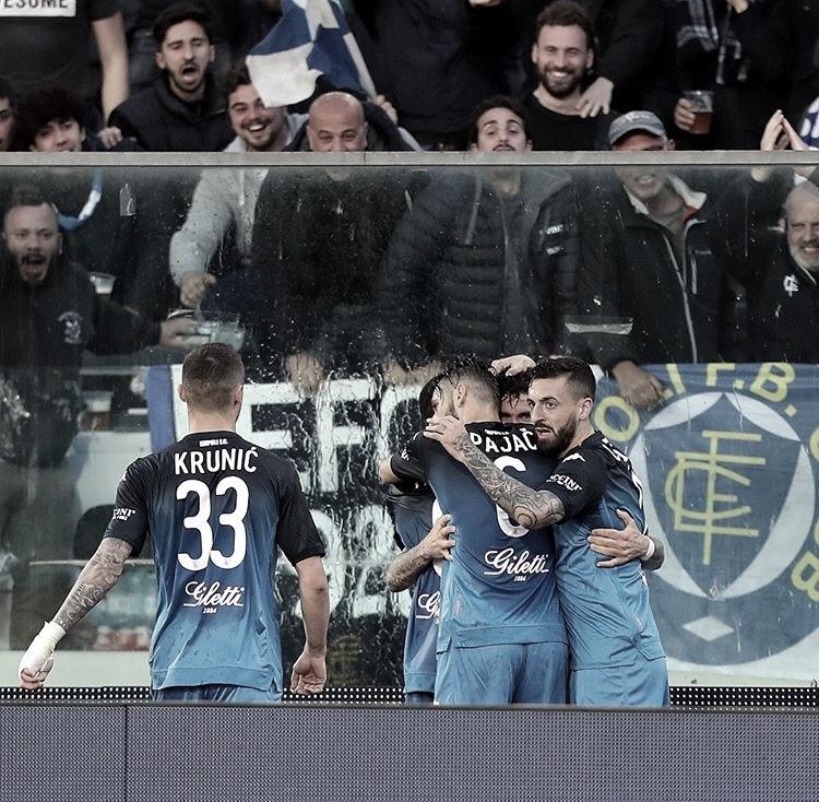 Empoli supreende Napoli e deixa zona de rebaixamento do Campeonato Italiano