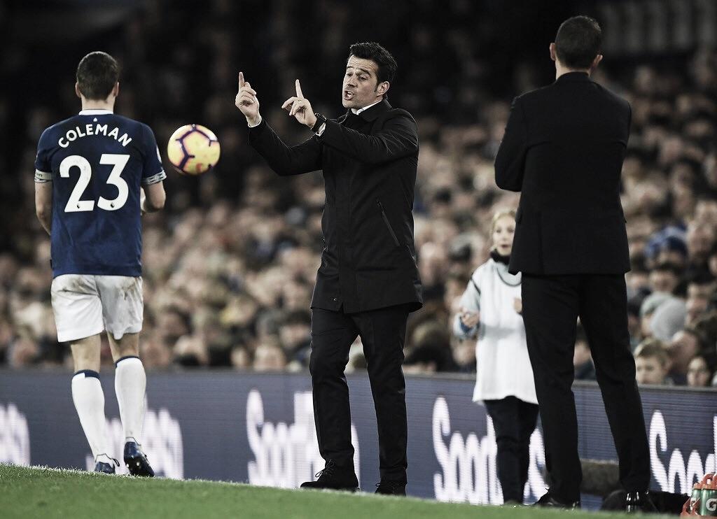 Everton demite treinador Marco Silva