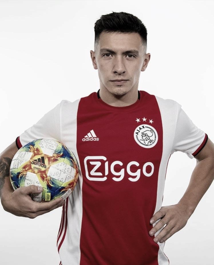 Lisandro Martínez é mais um argentino contratado pelo Ajax