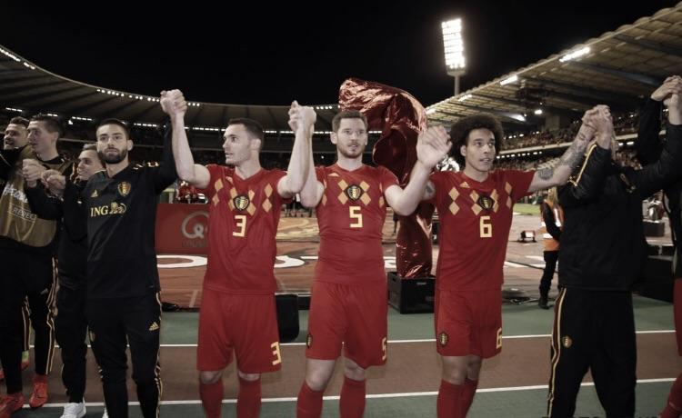 """Roberto Martinez vibra com a vitória da Bélgica sobre Cazaquistão: """"Tudo funcionou"""""""