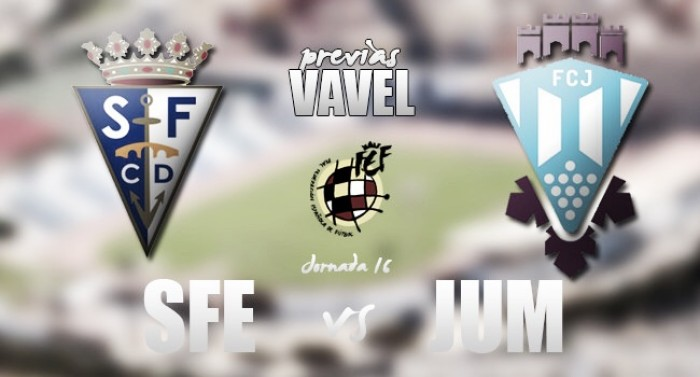 San Fernando - FC Jumilla: mirando arriba