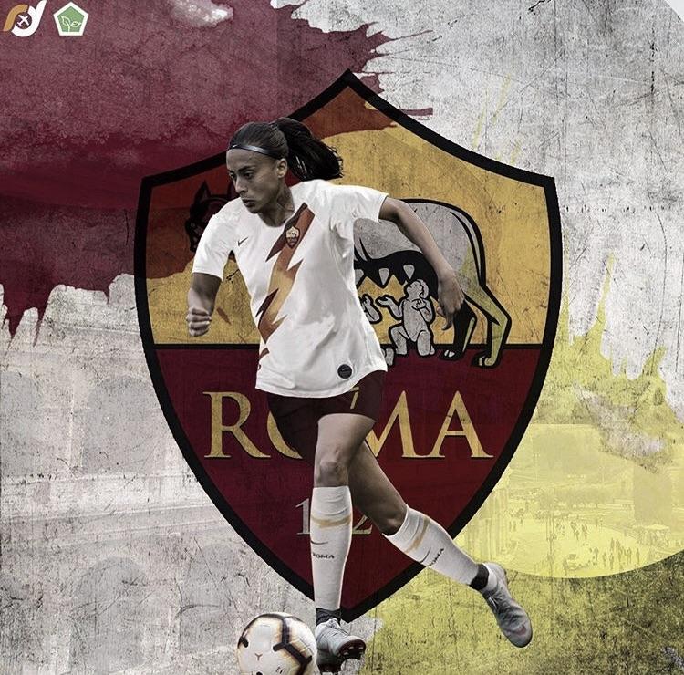 Roma oficializa contratação de Andressa Alves