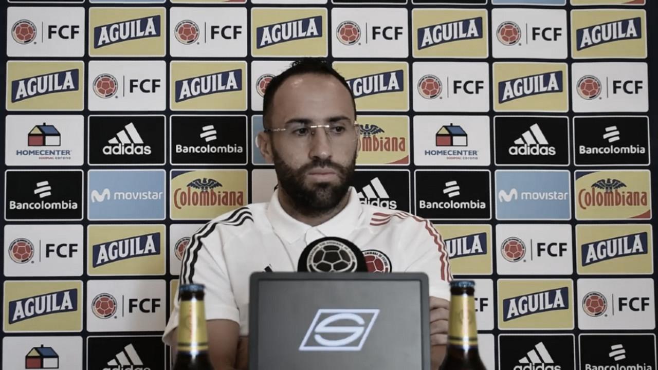 """David Ospina: """"En el momento que podamos atacar, debemos hacerlo con mucha eficiencia"""""""