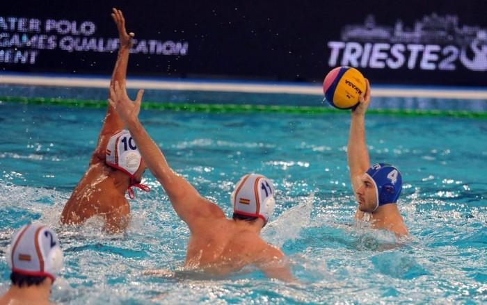Pallanuoto, Preolimpico Trieste - La Spagna supera l'Italia di misura