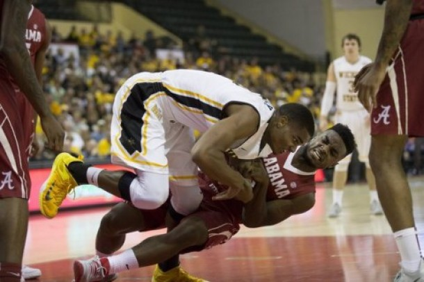 Roll Tide: Alabama Knocks Off No. 20 Wichita State At Advocare Invitational