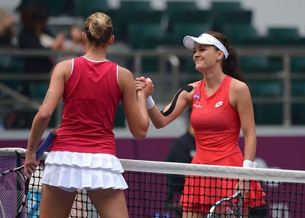 WTA Tianjin: Kovinic To Meet Radwanska In Final
