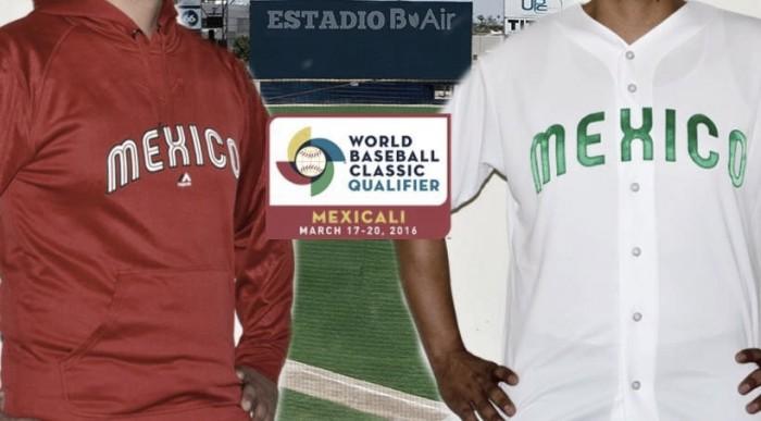 Se presentan los uniformes para el Clasificatorio rumbo al Clásico Mundial de Beisbol