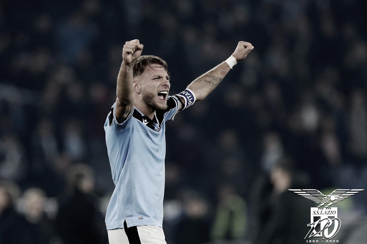 Chuteira de Ouro na temporada, atacante Ciro Immobile renova vínculo com Lazio até 2025