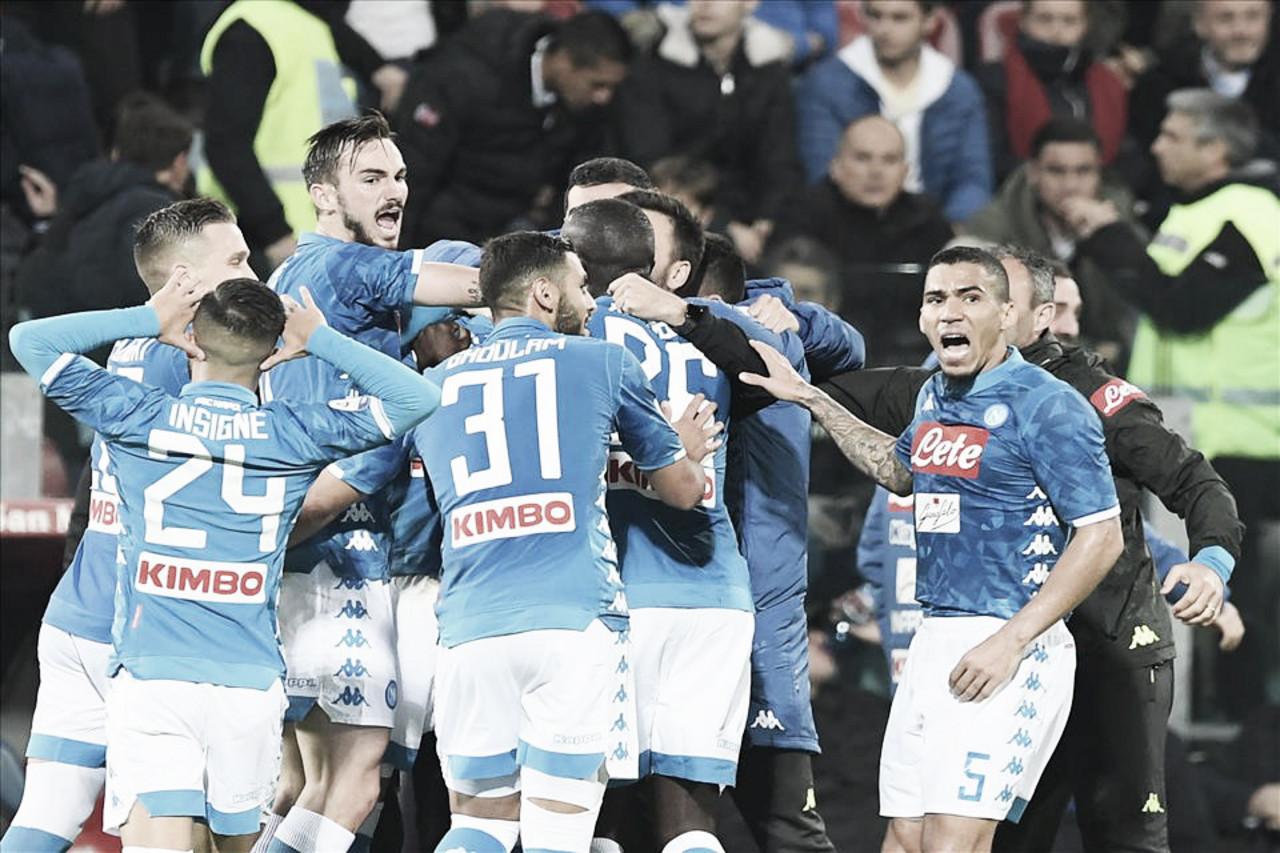 Napoli derrota Spal em casa e segue na caça pela liderança da Serie A