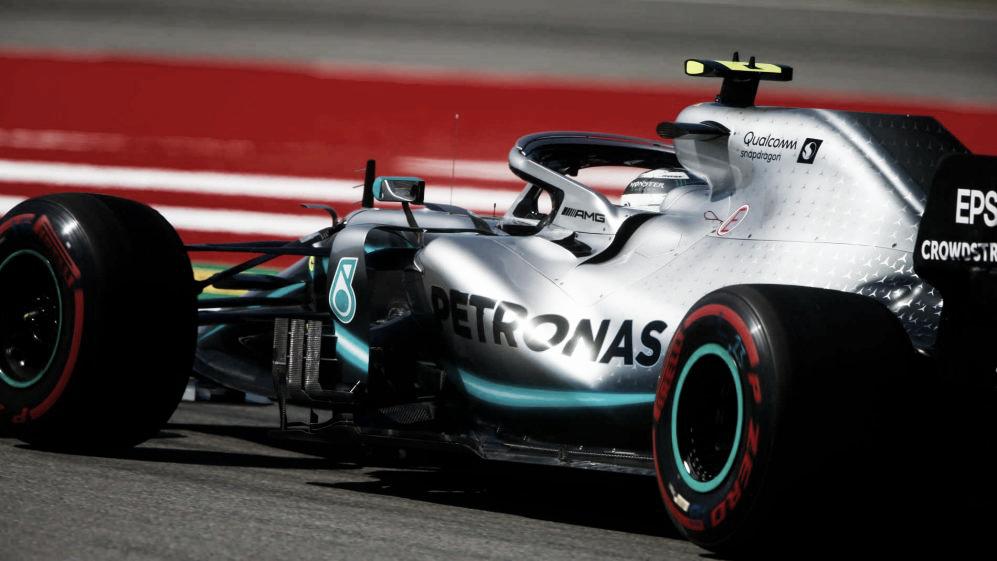 Resultado de treino classificatório Fórmula 1 para GP da Espanha 2019