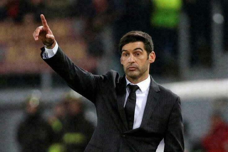 Paulo Fonseca no comando do AS Roma