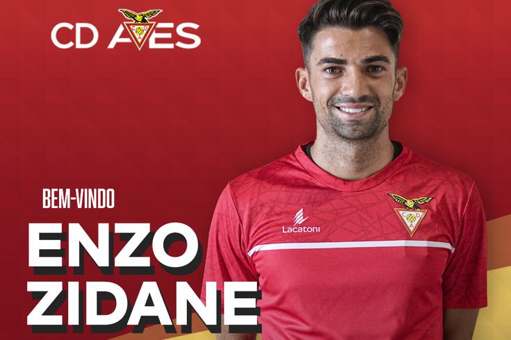 Enzo em Portugal, no Desportivo das Aves