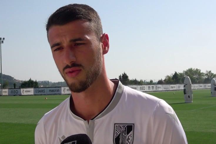 André Pereira é o novo reforço do Vitória de Guimarães