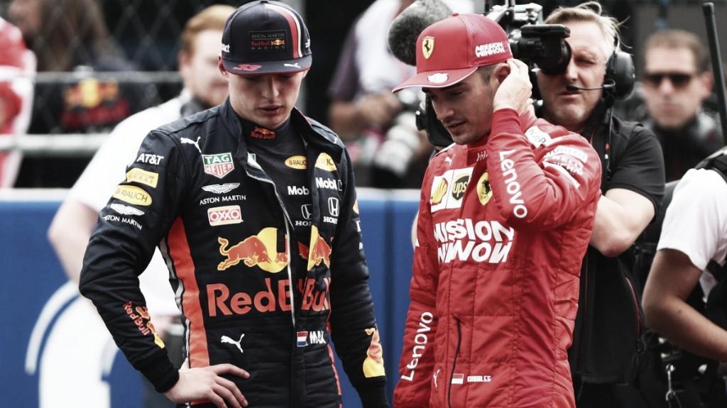 Verstappen é punido, e pole do GP do México fica com Leclerc