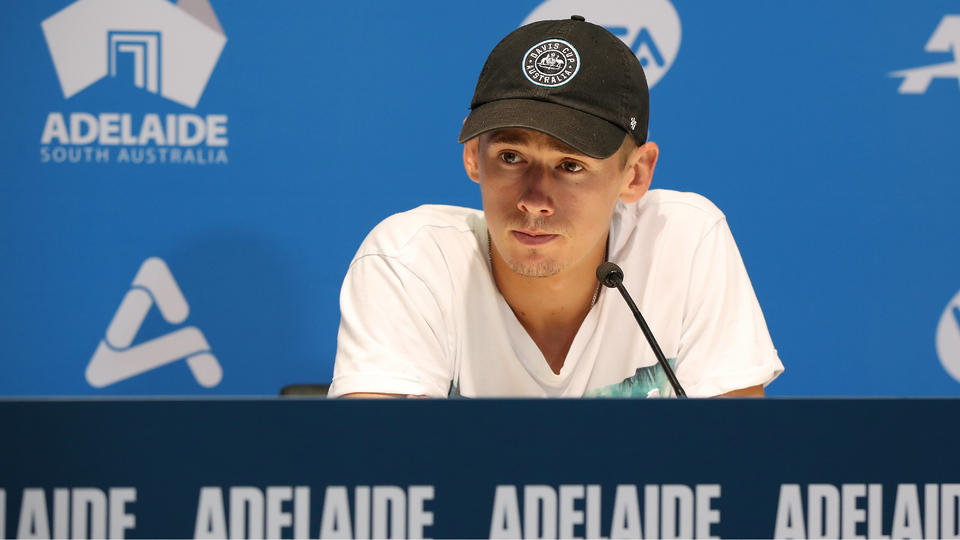 Alex de Minaur withdraws from Adelaide International due to injury