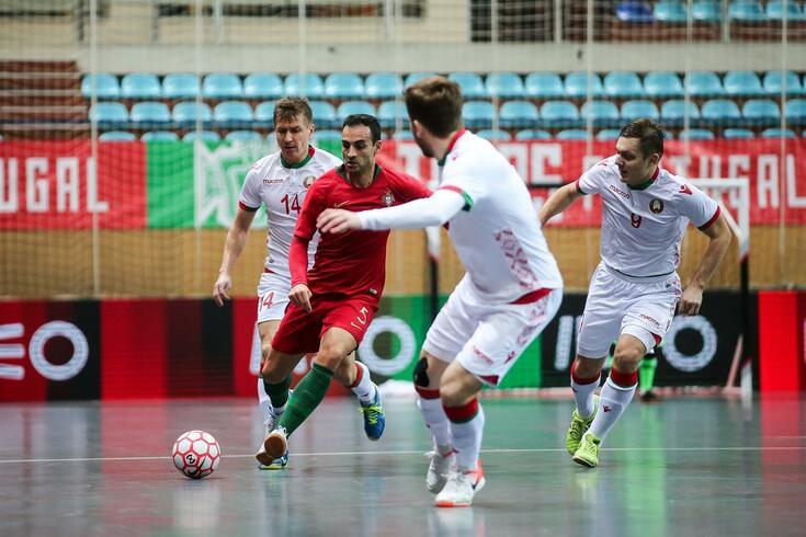 Portugal entra com o pé direito nas qualificações para o Mundial de Futsal