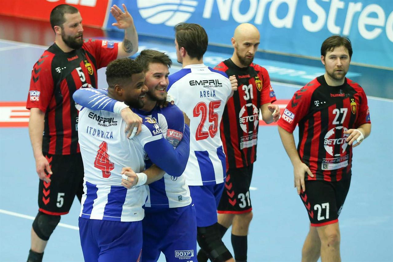 Dragões nos oitavos de final da Liga dos Campeões de Andebol