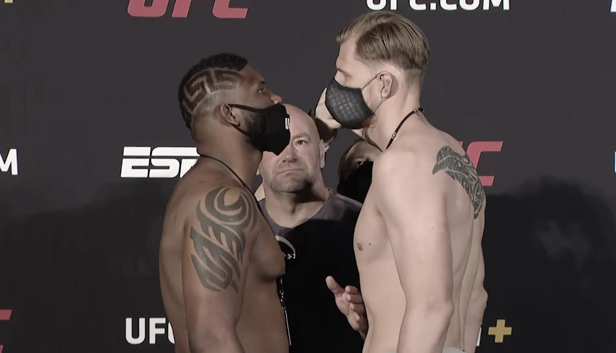 UFC Vegas 3: pesados listos para la acción