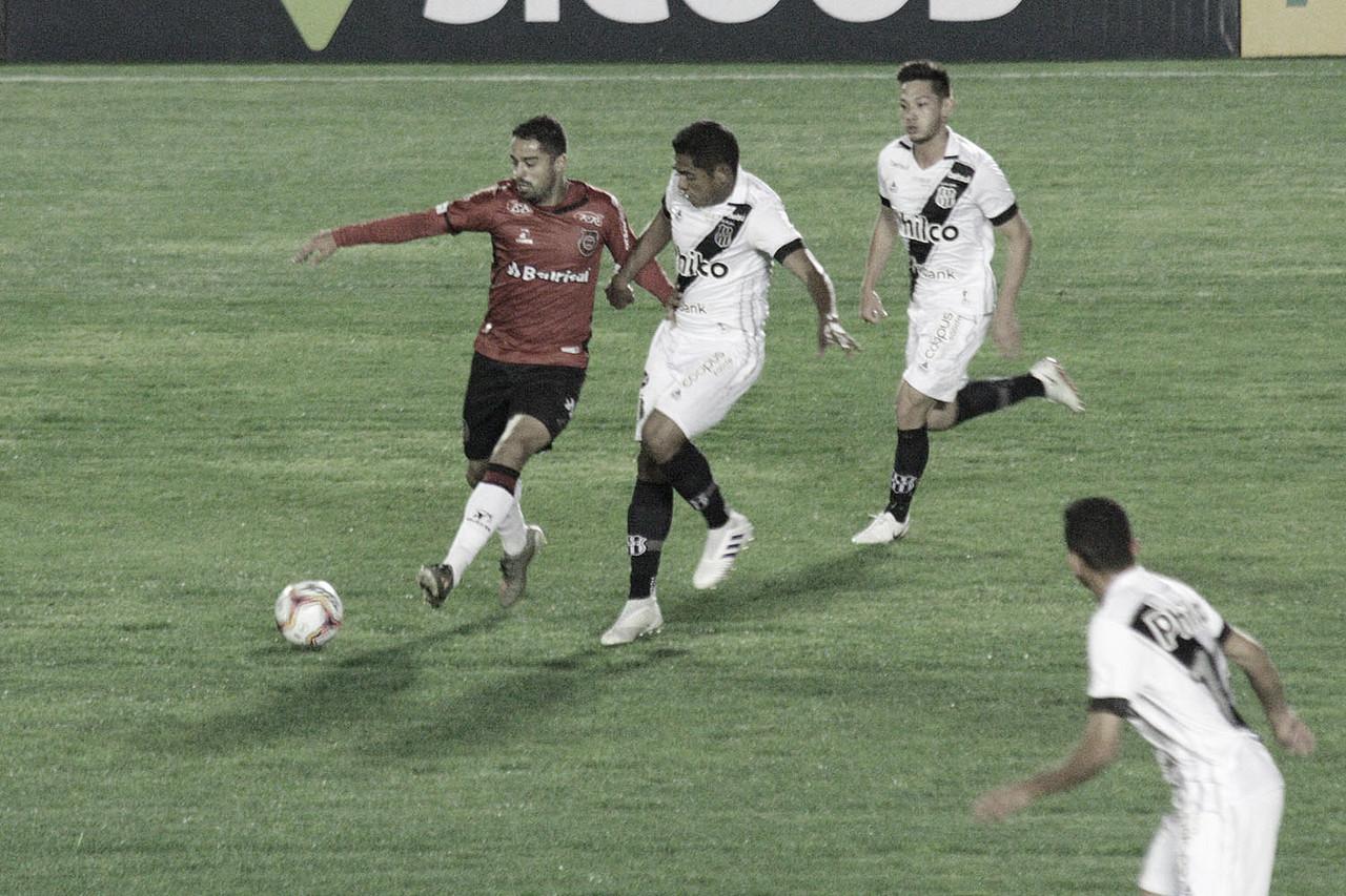 Em jogo disputado, Brasil e Ponte Preta apenas empatam na Série B