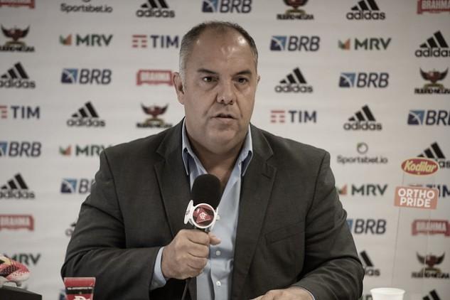 """Marcos Braz admite dificuldade para encontrar substituto de Rafinha: ''Não é fácil, mas vamos achar"""""""