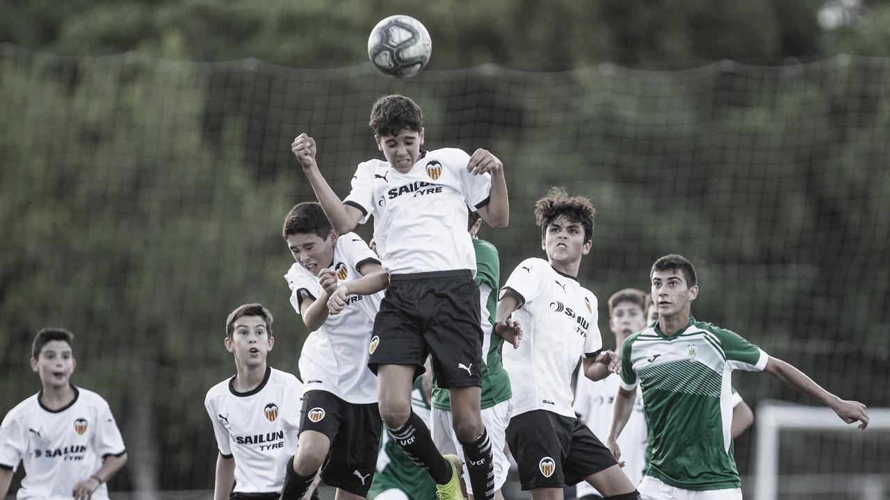 La cantera del Valencia CF continúa con amistosos