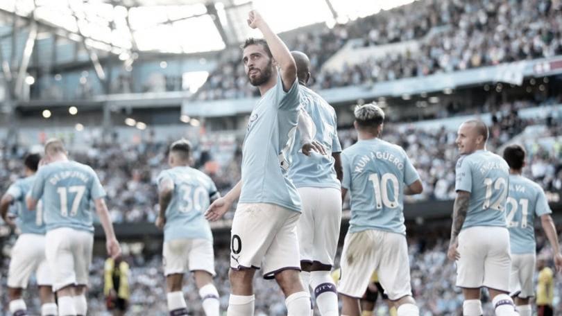 Manchester City e Arsenal se enfrentam no primeiro dia de retorno da Premier League