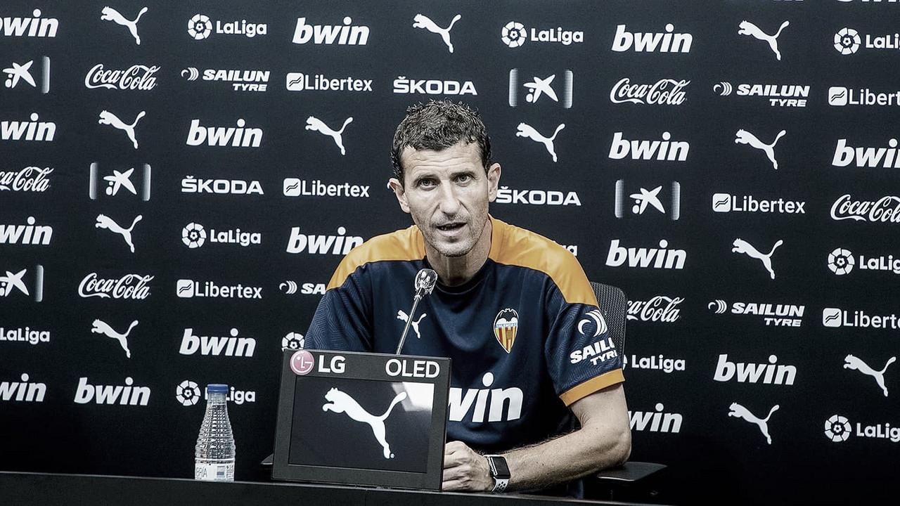 """Javi Gracia: """"Iremos en busca de la victoria"""""""