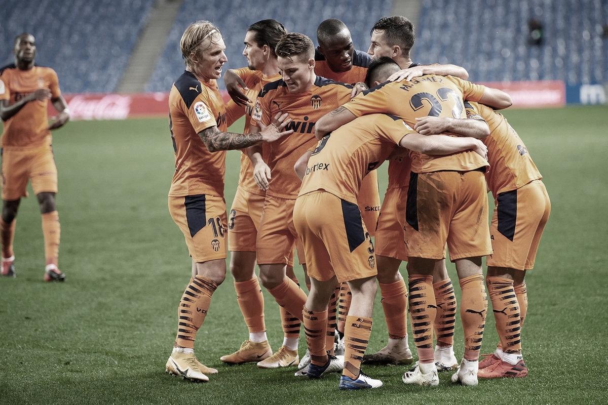 Tres puntos que dan un respiro al Valencia