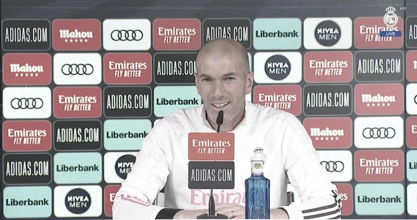 """Zinedine Zidane:""""Queremos cambiar la situación, nada nos impedirá trabajar fuerte"""""""
