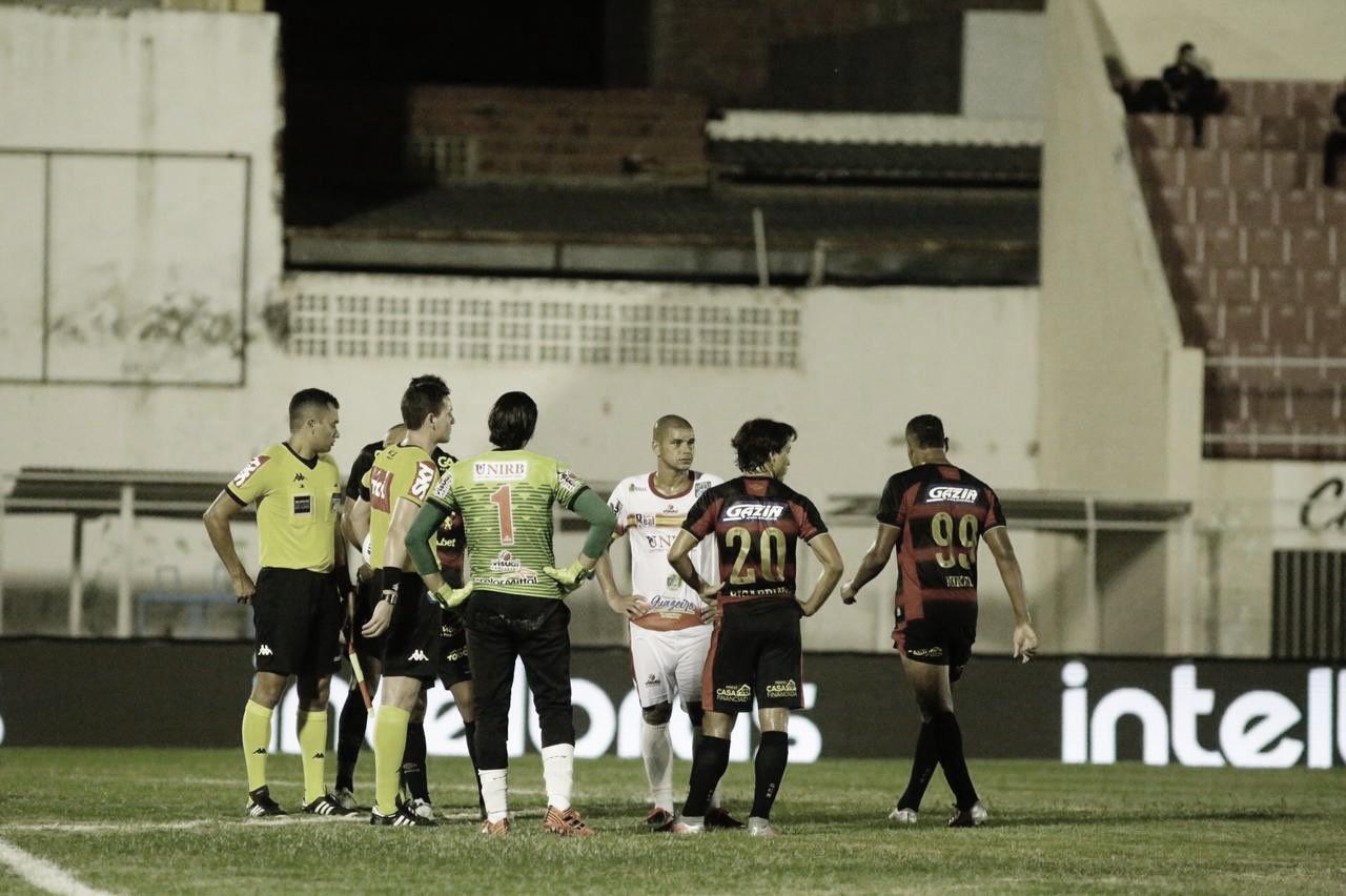 Em jogo com muita polêmica, Sport é eliminado da Copa do Brasil pela Juazeirense